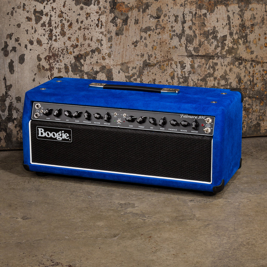 MESA/Boogie Fillmore 100 Head - Custom Blue Suede / Black Jute Grille