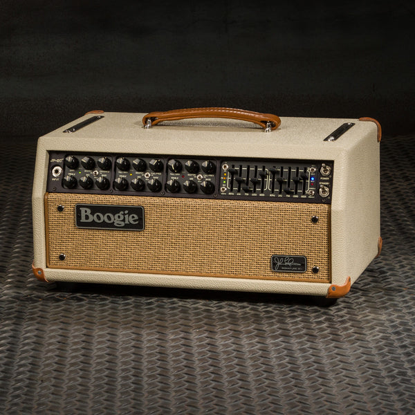 MESA/Boogie JP-2C Head - Custom Cream  Bronco / Tan Jute Grille