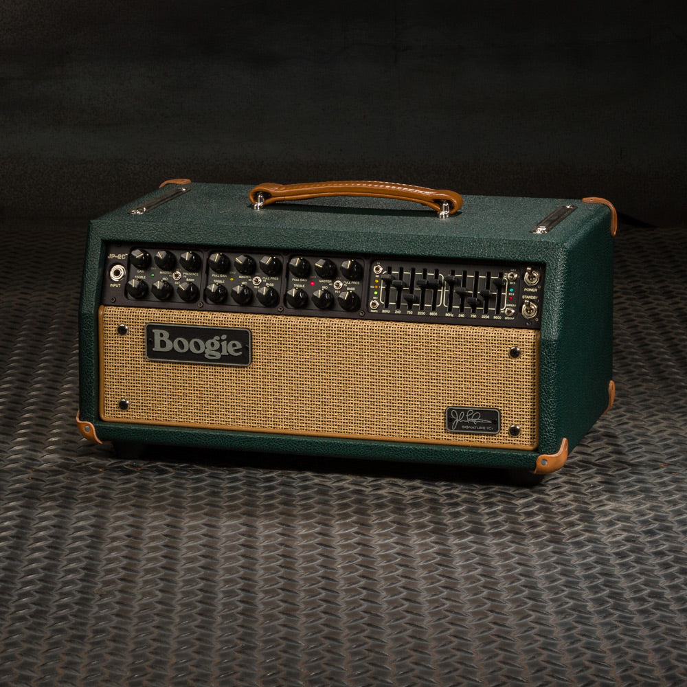 MESA/Boogie JP-2C Head - Custom Emerald  Bronco / Tan Jute Grille