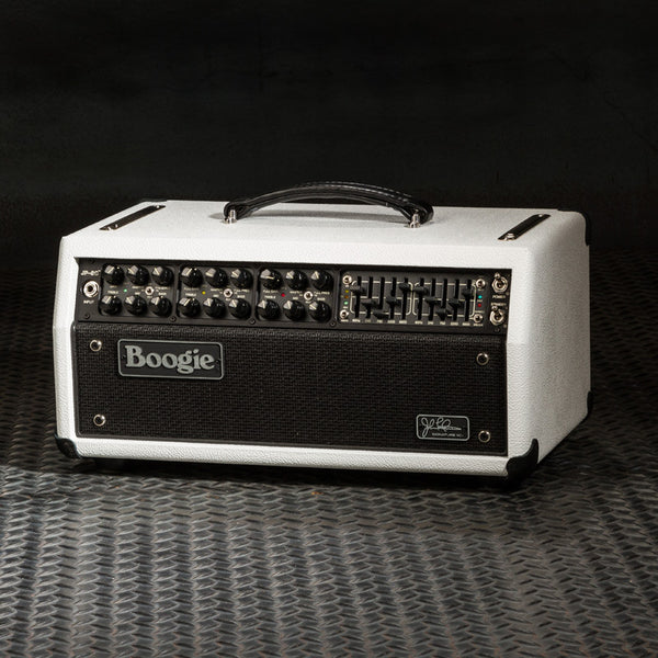 MESA/Boogie JP-2C Head - Custom Hot White Bronco / Black Jute Grille