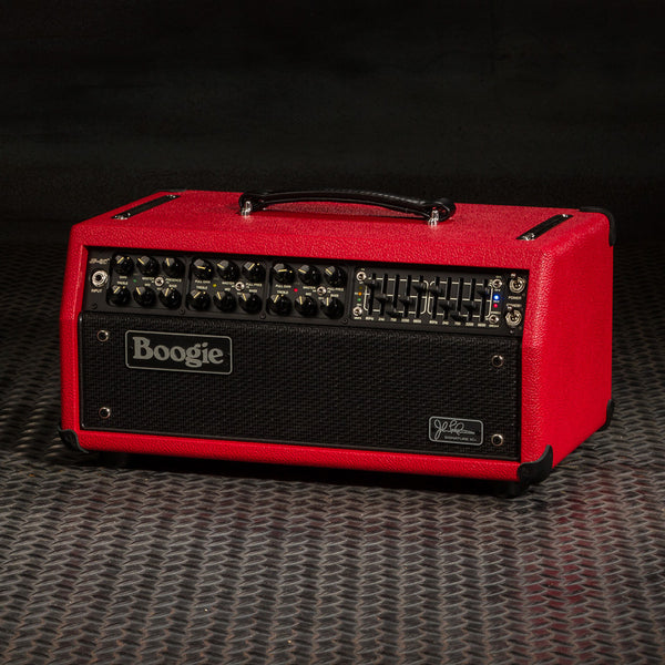 MESA/Boogie JP-2C Head - Custom Red Bronco / Black Jute Grille