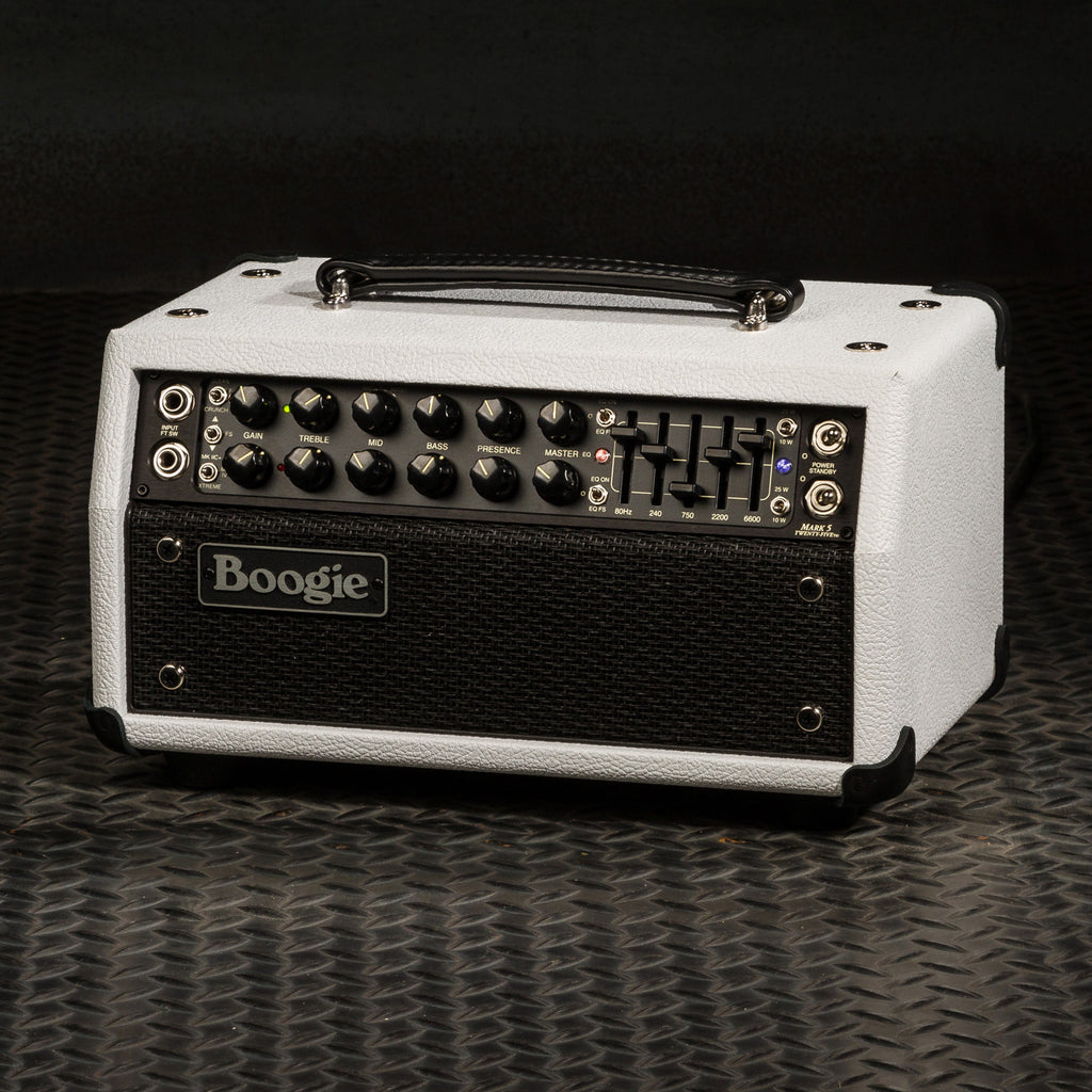 MESA/Boogie Mark Five: 25 Head - Custom Hot White Bronco / Black Jute Grille