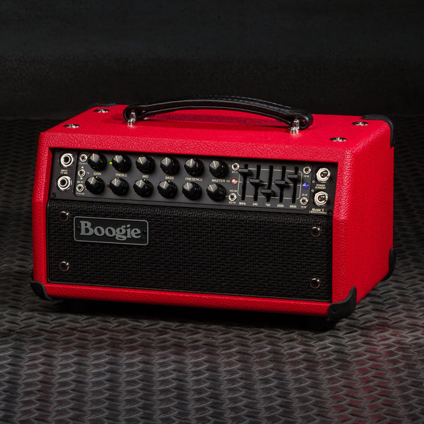 MESA/Boogie Mark Five: 25 Head - Custom Red Bronco / Black Jute Grille