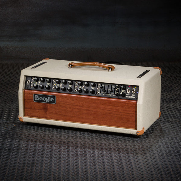 MESA/Boogie Mark V Medium Head - Custom Cream Bronco / Bubinga Front Panel