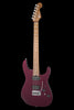 Charvel USA Select DK24 HH 2PT CM - Caramelized Flame Maple Fingerboard - Oxblood