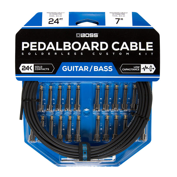 Boss - BCK-24 Pedalboard Cable Solderless Custom Kit