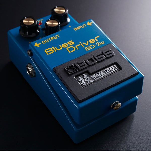 Boss BD-2W Blues Driver Waza Craft Edition