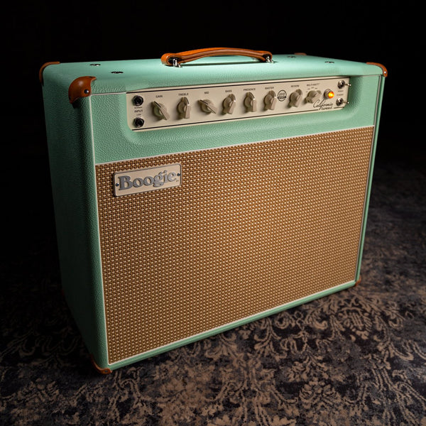 MESA/Boogie California Tweed 6V6 4:40 1x12 Combo - Custom Surf Bronco / Cream & Tan Jute Grille