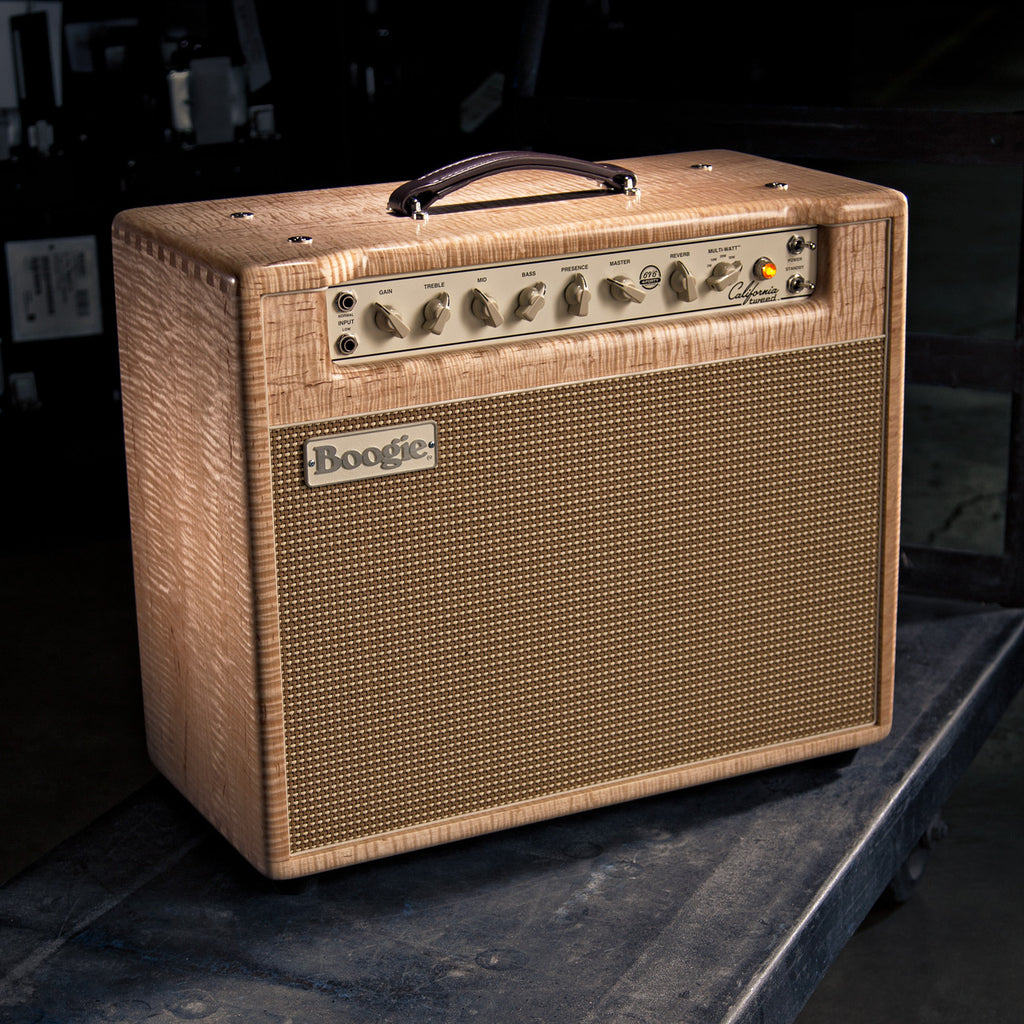 MESA/Boogie California Tweed 6V6 4:40 1x12 Combo - Custom Private Reserve Flame Maple / Cream & Tan Jute Grille