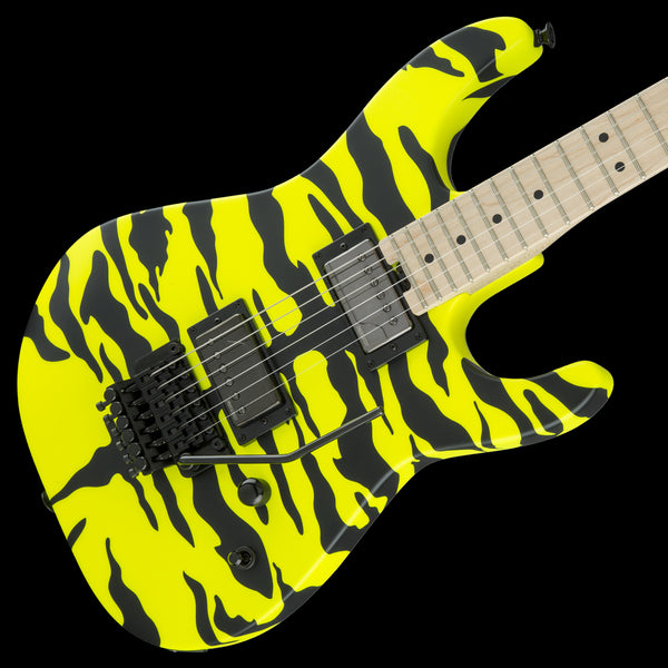 Charvel Satchel Signature Pro-Mod DK, Maple Fingerboard - Yellow Bengal