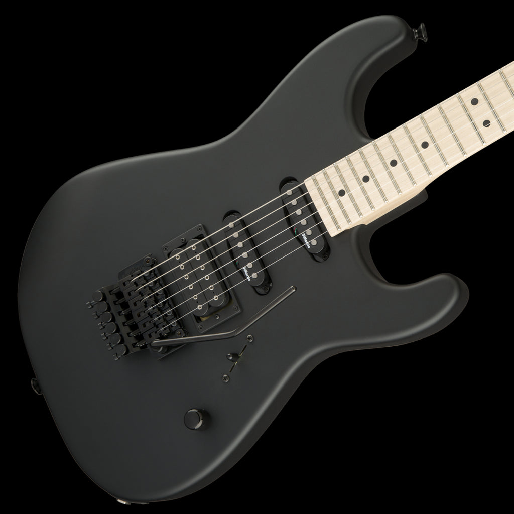 Charvel USA Select San Dimas Style 1 HSS FR, Maple Fingerboard - Pitch Black