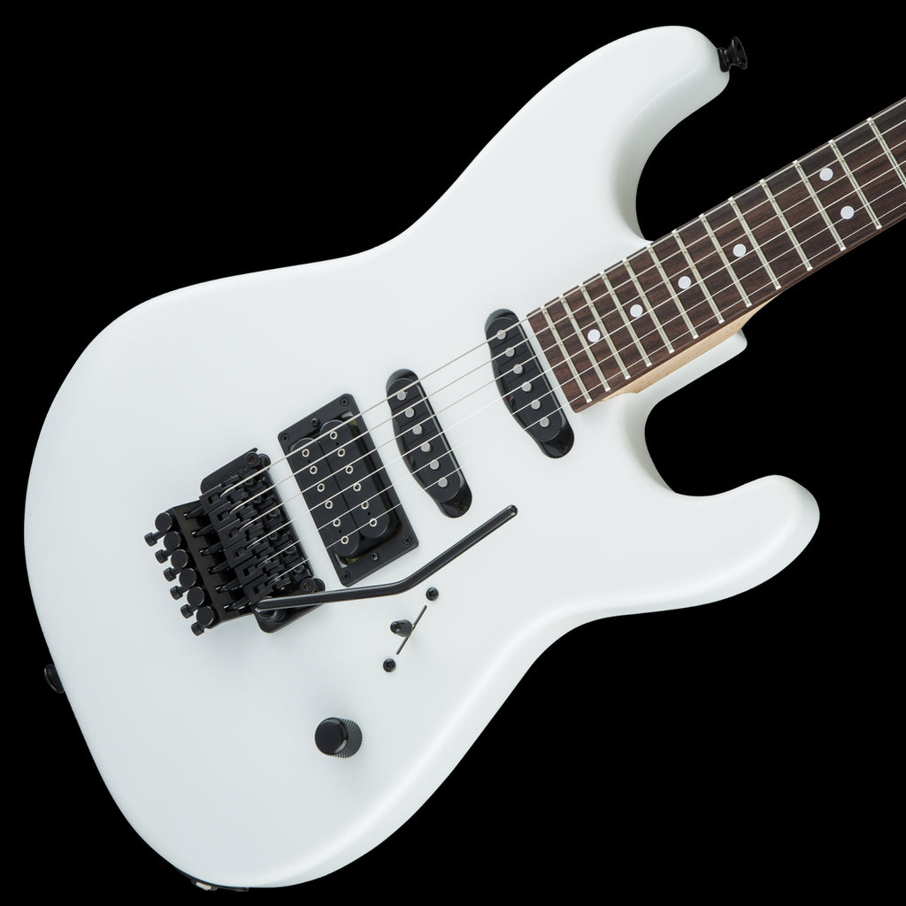 Charvel USA Select San Dimas Style 1 HSS FR, Rosewood Fingerboard - Snow Blind Satin