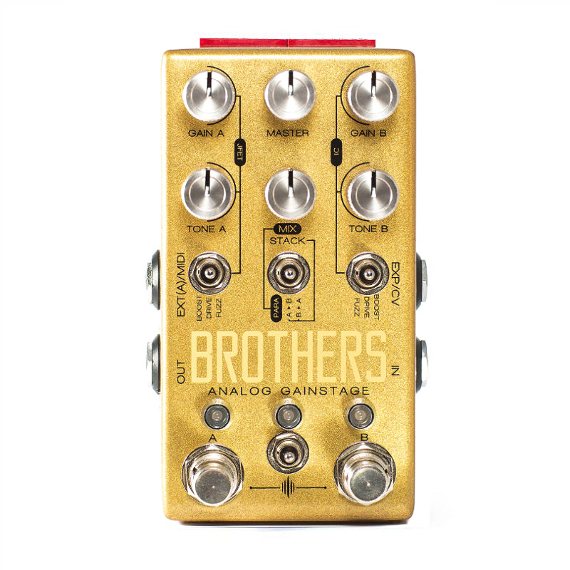 Chase Bliss Audio - Brothers - Drive/Fuzz