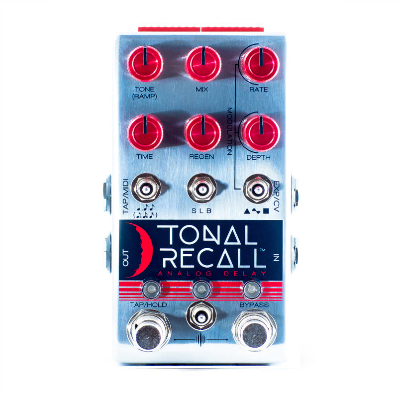 Chase Bliss Audio - Tonal Recall Red Knob Mod