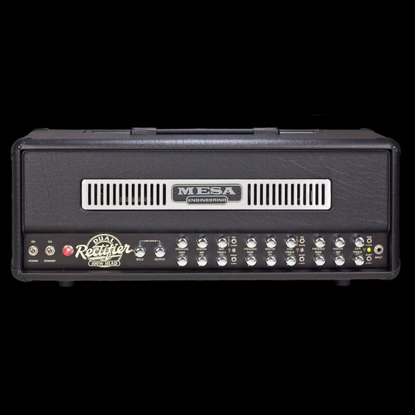MESA/Boogie Dual Rectifier Multi-Watt Head - Black w/Black Taurus Front Panel
