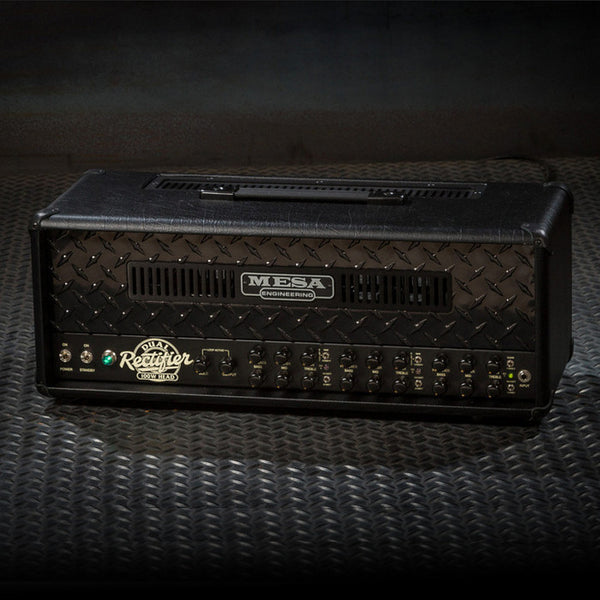 MESA/Boogie Dual Rectifier Multi-Watt Head - Custom Blackout