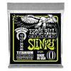 Ernie Ball regular Slinky Coated Titanium RPS Electric Guitar Strings, 10-46