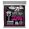 Ernie Ball Super Slinky Coated Titanium RPS Electric Guitar Strings, 09-42