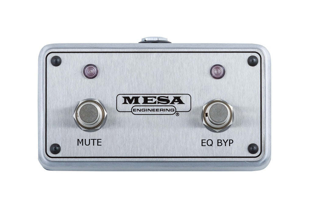 MESA/Boogie Footswitch - Subway WD-800 Mute & EQ Bypass- FC.WD8