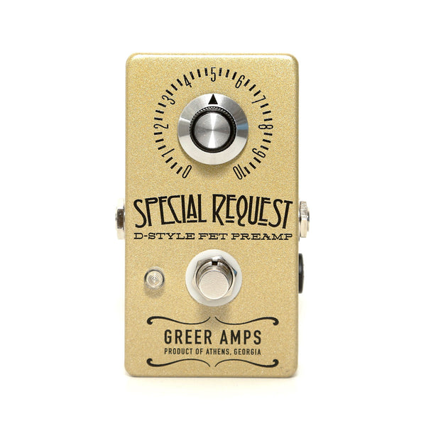 Greer Amps - Special Request D-Style FET Preamp