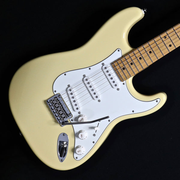 Suhr Classic S SSS - Vintage Yellow - Maple Fingerboard