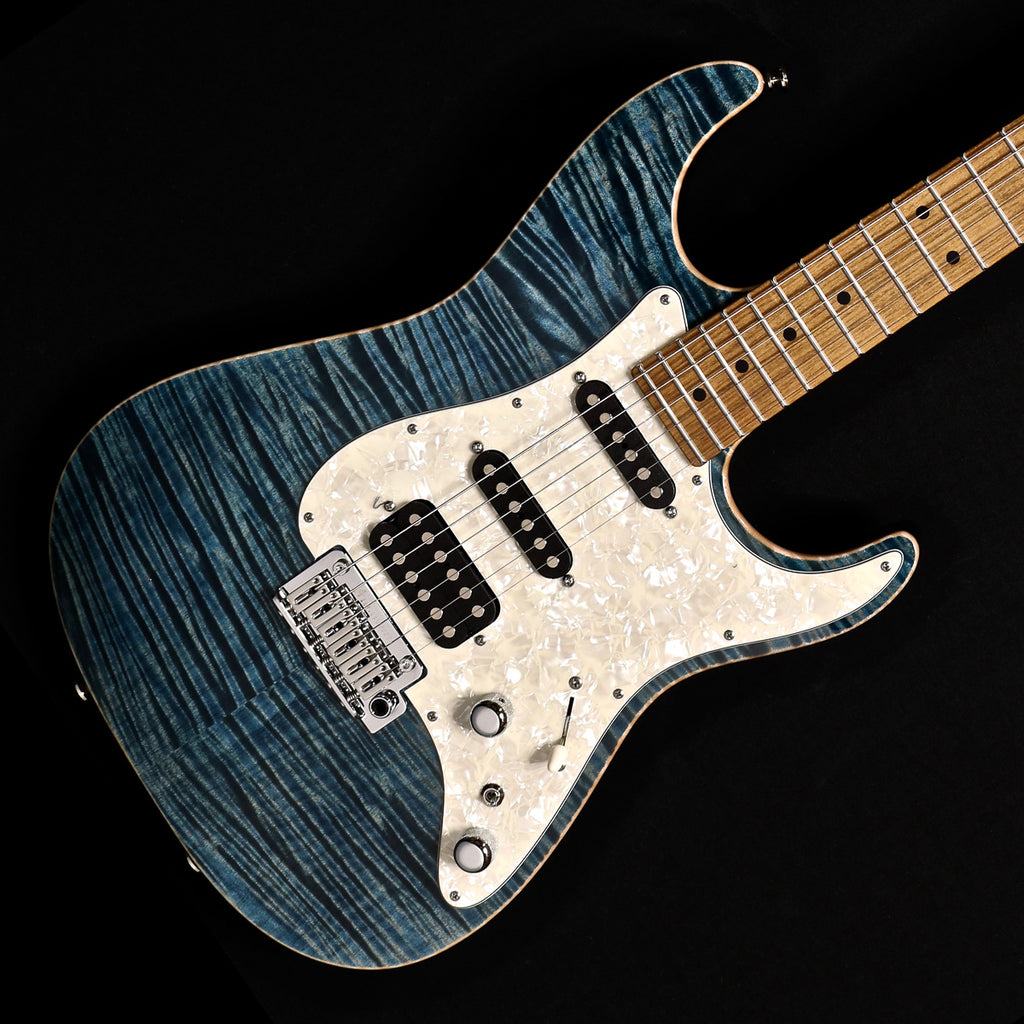 Tom Anderson Drop Top Classic - Arctic Blue with Binding