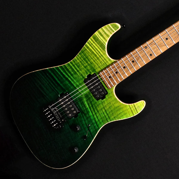 Tom Anderson Drop Top - Gamma Green Wipeout with Binding