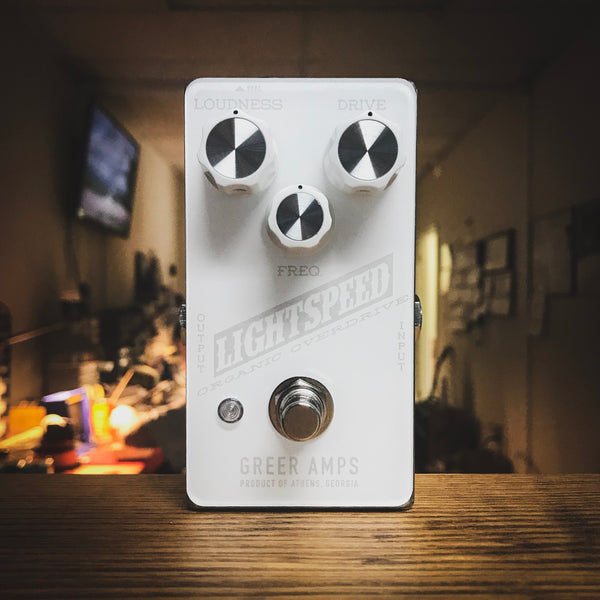 Greer Amps - Lightspeed Organic Overdrive - Snowblind Edition