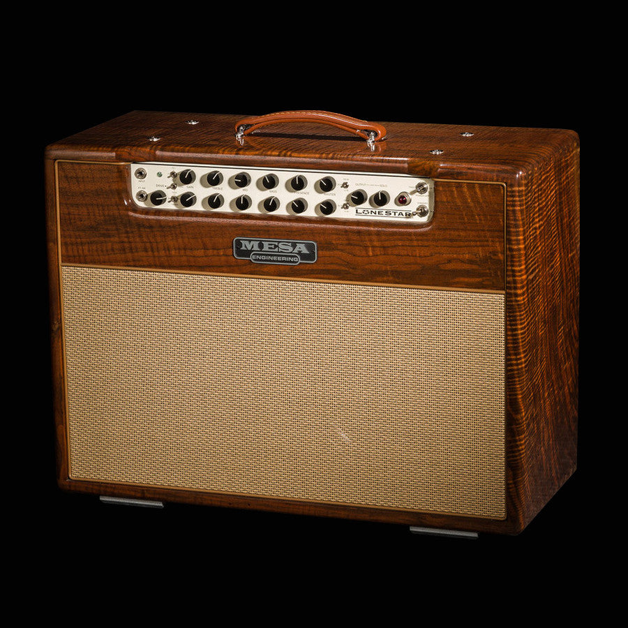 Mesa/Boogie Lone Star 2x12 Combo - Custom Private Reserve Walnut / Tan Jute Grille