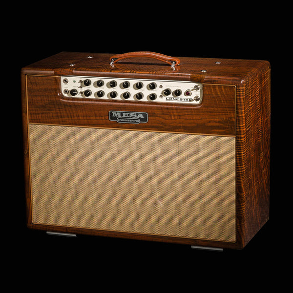 Mesa/Boogie Lone Star 2x12 Combo - Custom Private Reserve Walnut / Tan Jute Grill - Used