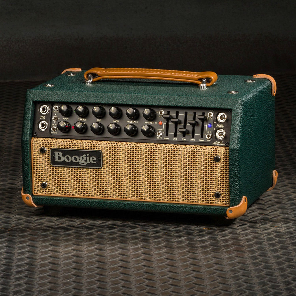 MESA/Boogie Mark Five: 25 Head - Custom Emerald Bronco / Tan Jute Grille