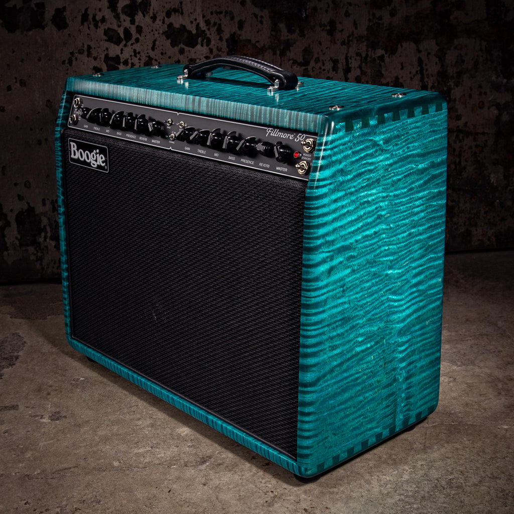 MESA/Boogie Fillmore 50 1x12 Combo- Custom Private Reserve Limited Flame Maple - Kui Blue
