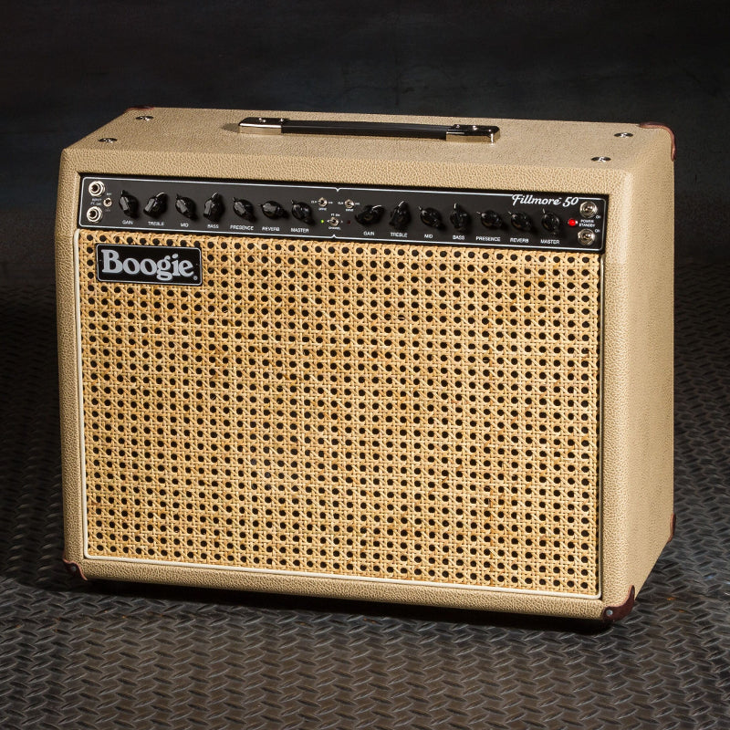 MESA/Boogie Fillmore 50 1x12 Combo - Custom British Tan Bronco / Wicker Grille
