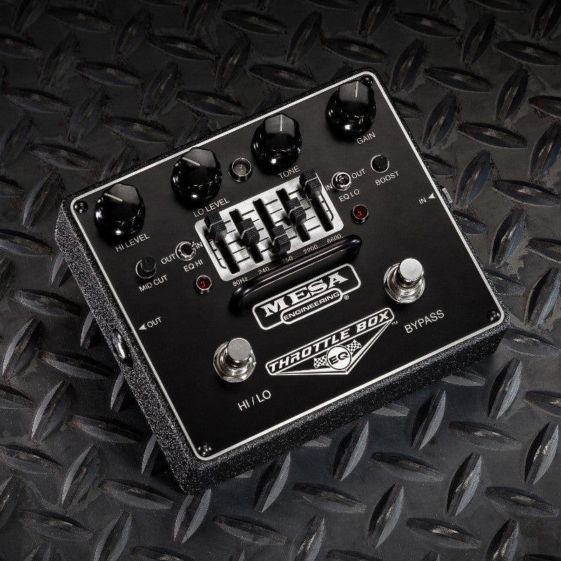 MESA/Boogie Throttle Box EQ Overdrive Pedal