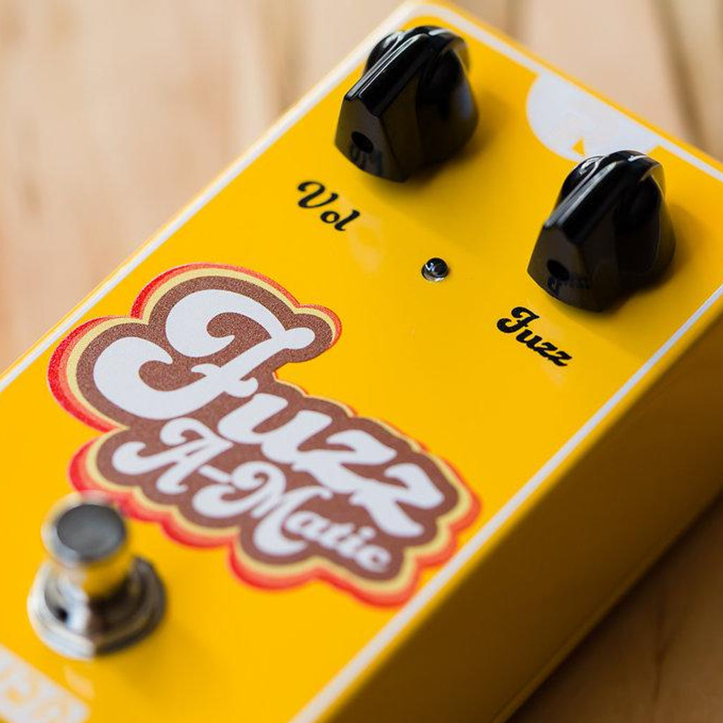 RYRA - Fuzz A-Matic Pedal - Yellow