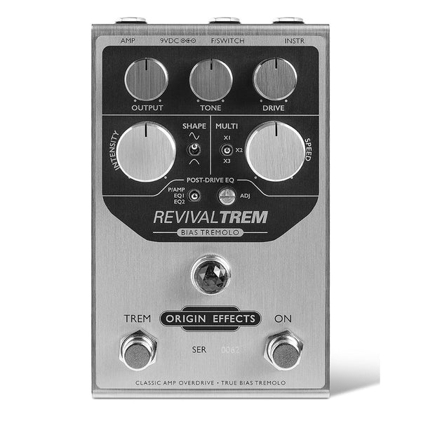Origin Effects - RevivalTREM Bias Tremolo