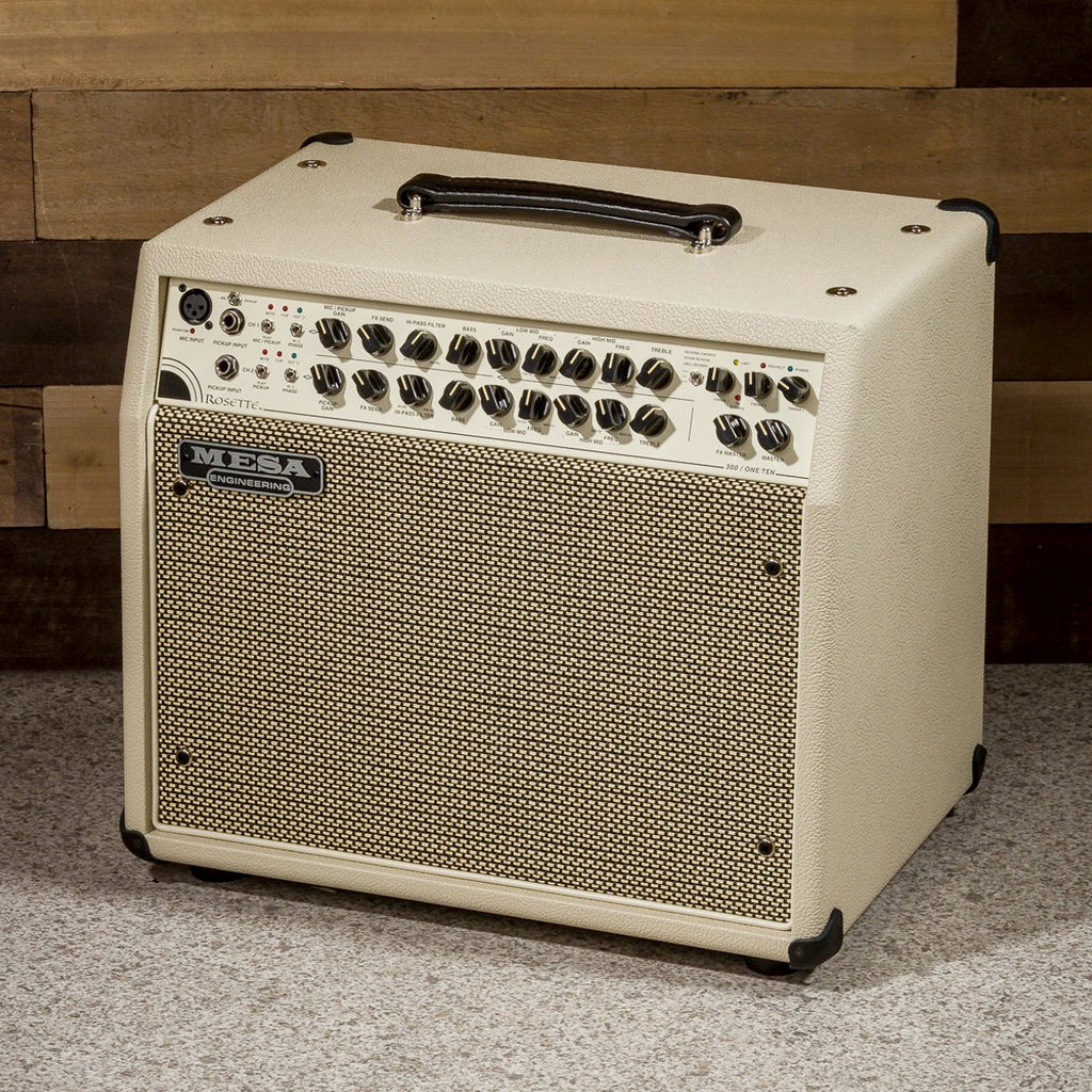 MESA/Boogie Rosette 300 / One:Ten Acoustic Combo - Custom Cream Bronco / Cream & Black Grille