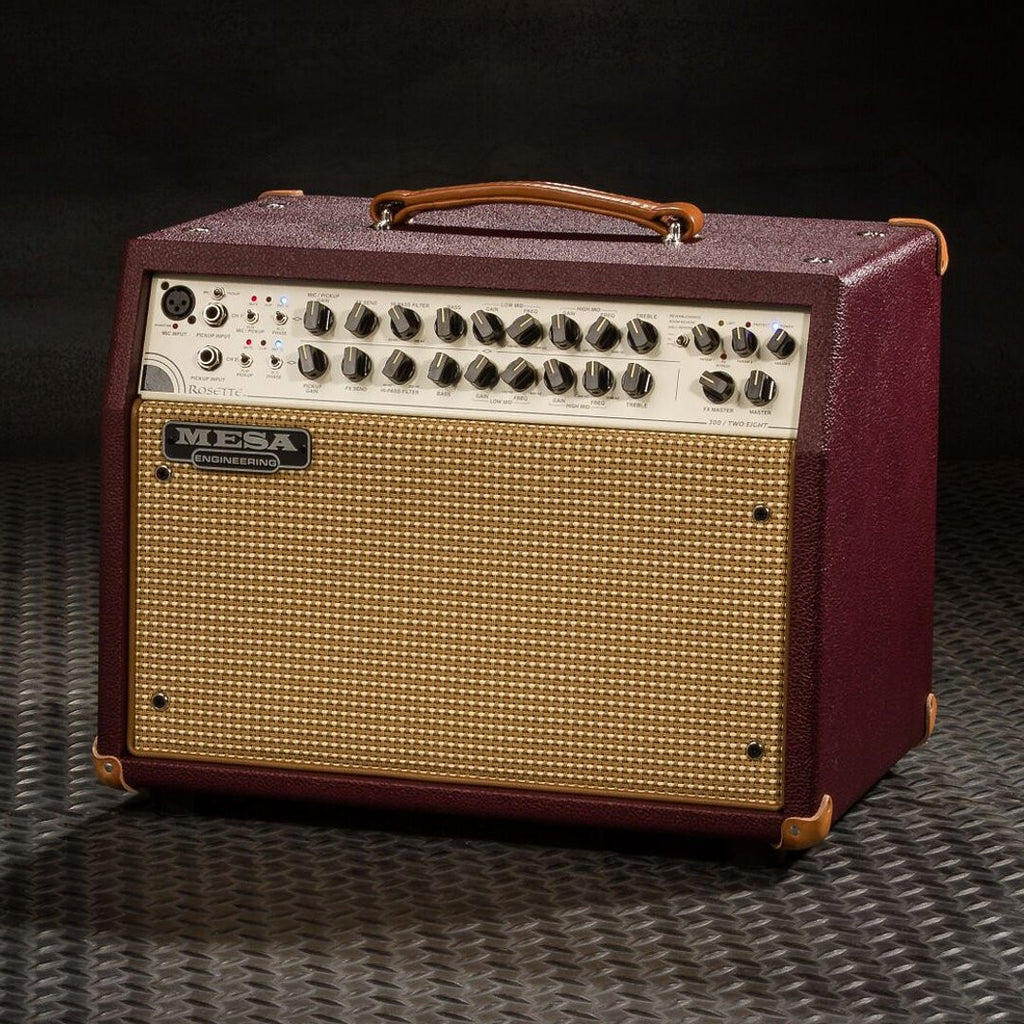 MESA/Boogie Rosette 300 / Two:Eight Acoustic Combo - Custom British Cabernet  / Cream & Tan Grille
