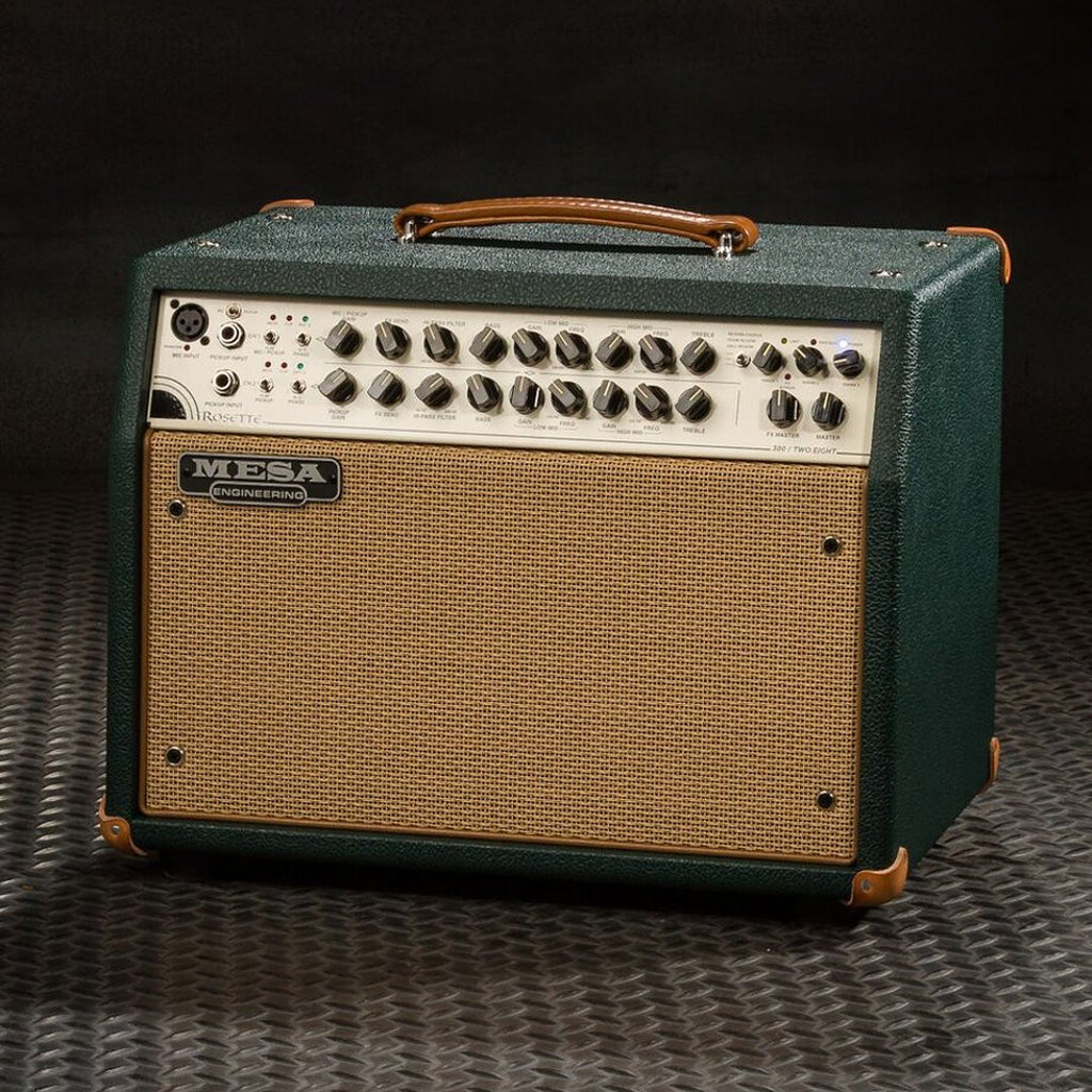 MESA/Boogie Rosette 300 / Two:Eight Acoustic Combo - Custom Emerald Bronco  / Tan Grille