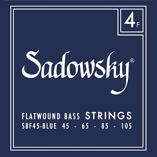 Sadowsky SBF45-BLUE Flatwound Bass Strings 45-105