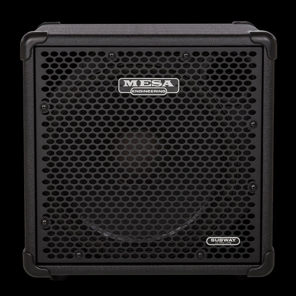 MESA/Boogie Subway Ultra-Lite 1x15 Bass Cabinet with Track-Loc Caster Set Installed