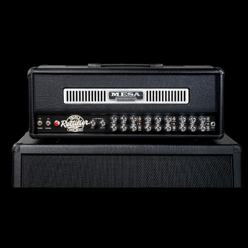 MESA/Boogie Triple Rectifier Multi-Watt Head - Black w/Black Taurus Front Panel
