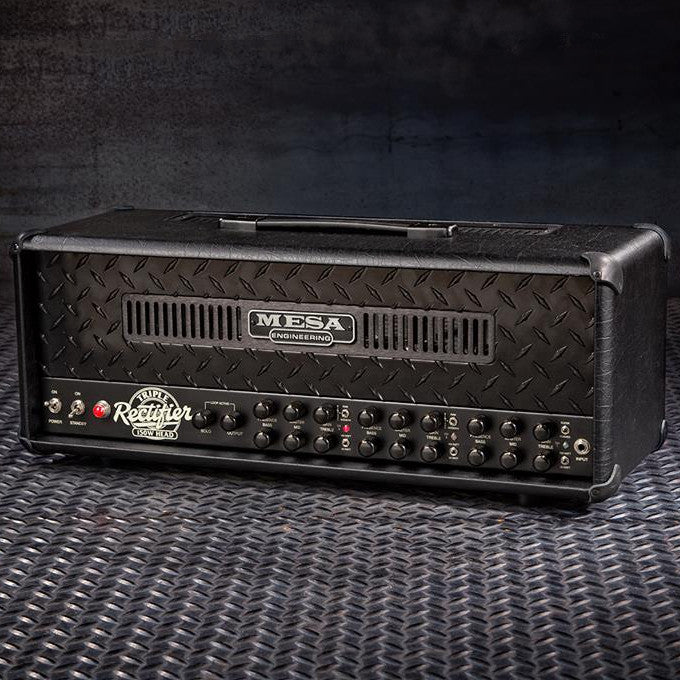 MESA/Boogie Triple Rectifier Multi-Watt Head - Custom Blackout