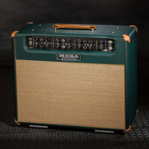 MESA/Boogie Triple Crown TC-50 1x12 Combo - Custom Emerald Bronco / Tan Jute Grille
