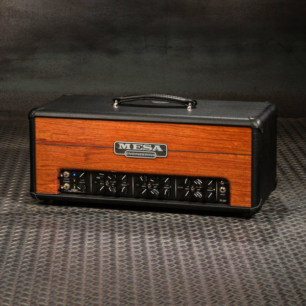 MESA/Boogie Triple Crown TC-50 Head - Custom Bubinga Premier Front Panel