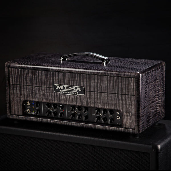 MESA/Boogie Triple Crown TC-50 Head - Custom Prvt. Res. Flame Maple Charcoal Stain - USED