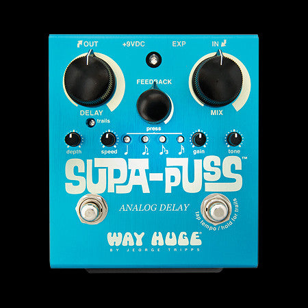 Way Huge - Supa-Puss Analog Delay Pedal