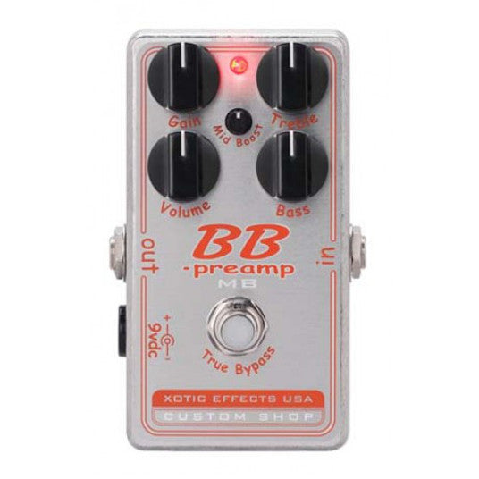 Xotic Effects - BBP-MB - BB Preamp with Mid-Boost Control Pedal
