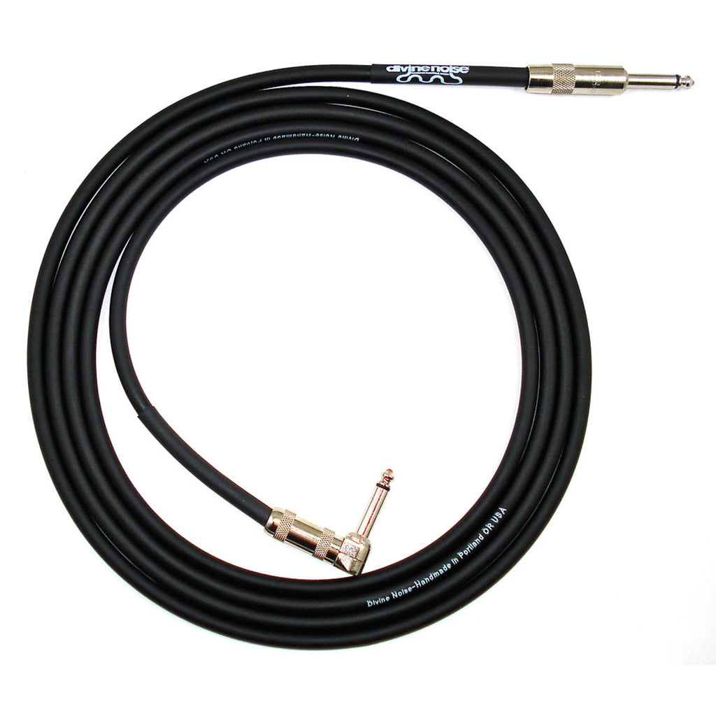 Divine Noise - 1/4 inch Straight Cable - Straight/Right Angle