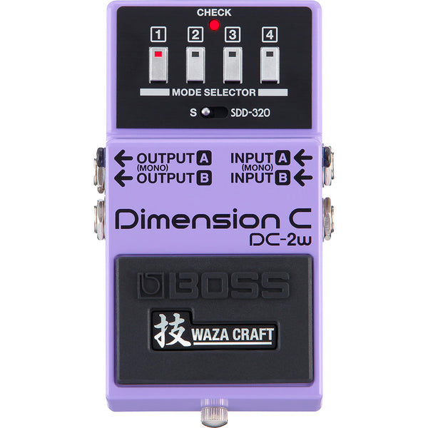 Boss - DC-2W Dimension C